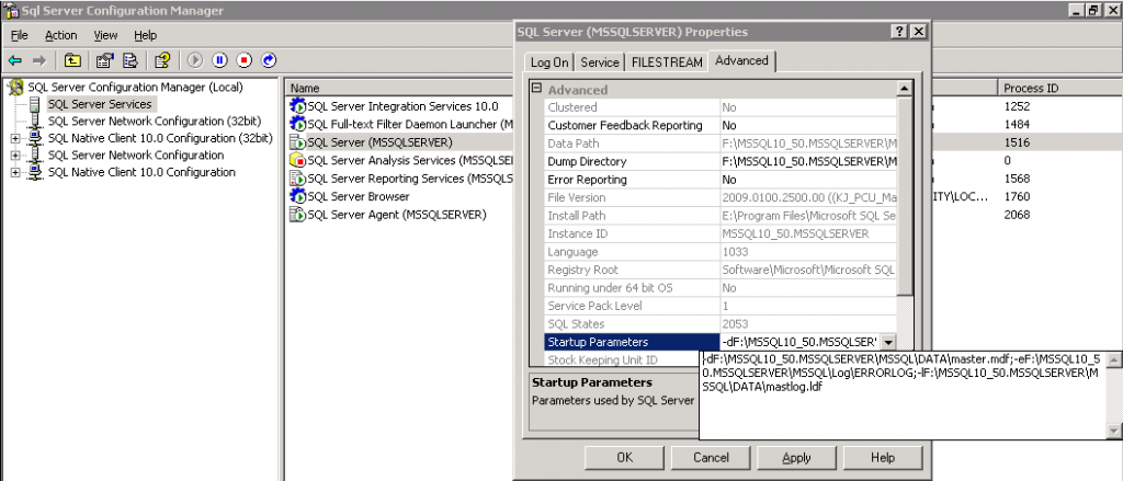 how to start sql server agent in 2012