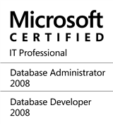 Microsoft Certified IT Professional - SQL Server 2005 and 2008