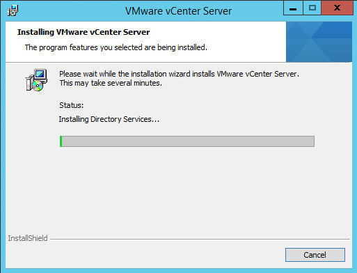 vcenter on win2012r2 01