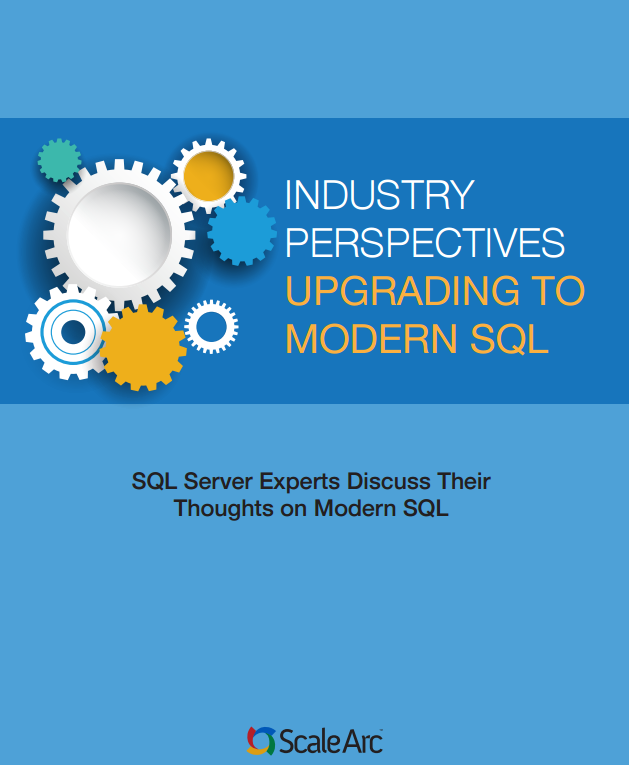Upgrading to Modern SQL with ScaleArc