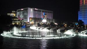 PEX 2012 Bellagio fountains