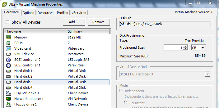 Profiling disk mount points with Windows Perfmon