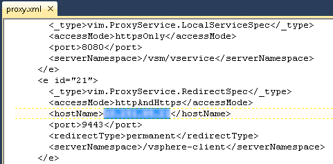 VMware vCenter Web Client IP redirect solution   Convergence